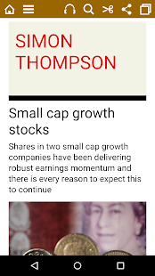 Investors Chronicle magazine- screenshot thumbnail