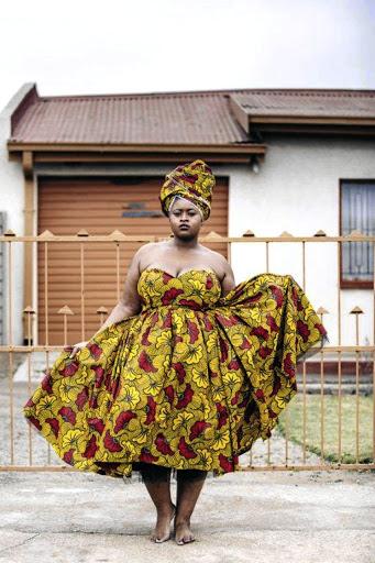 African designer's vibrant plus-size clothes gain fans