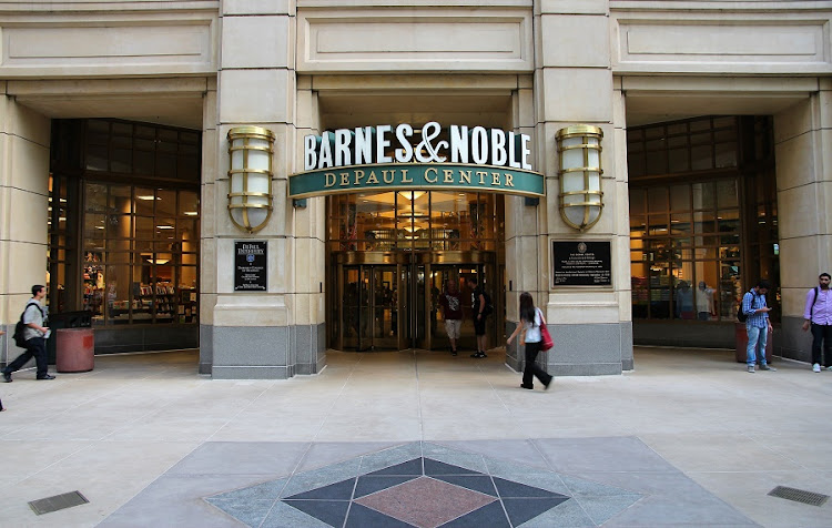 Barnes & Noble storefront in Chicago. Picture: 123RF/tupungato