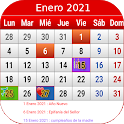 España Calendario 2021 icon