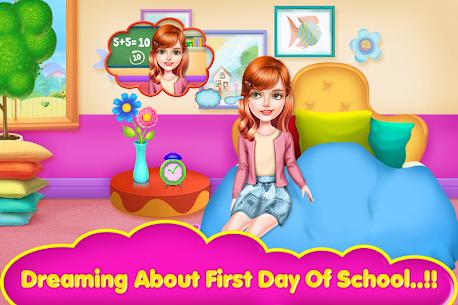 School Teacher Girls Classes 3
