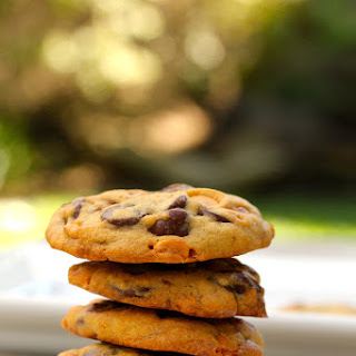 Toffee Candy, Butterscotch, and Chocolate Chip Cookies