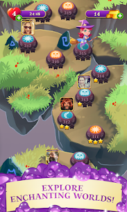 Bubble Witch 3 Saga Mod Apk 6.8.4 (Unlimited Lives) 4