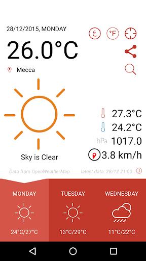 無料天气Appのطقس العرب - اراب وياثير|記事Game