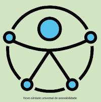 Novo símbolo universal de acessibilidade