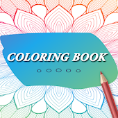 Coloring Book for Adults Pro