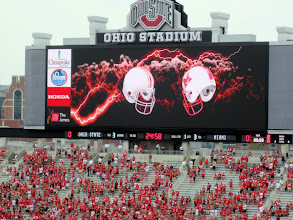 Photo: New High-Def scoreboard