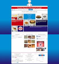 Photo: Diseño Web - Pagina Inicial de panlafamilia.com.mx