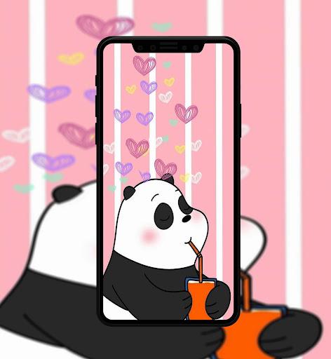 Cute Bear Cartoon Wallpaper screenshot 4