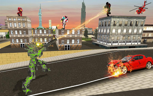 US Army Robot Transformation Jet Robo Car Tank War 1.0.4 screenshots 5