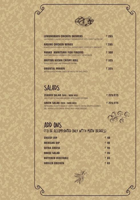 Rasta Cafe menu 6