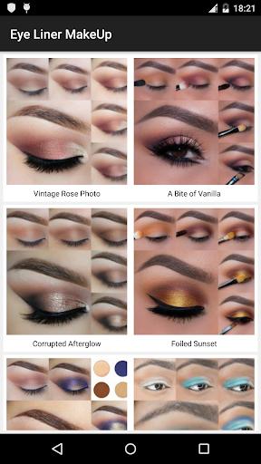 Eye Liner Lashes Makeup