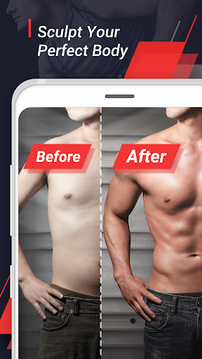 Home Workout - 6 Pack Abs Fitness, Exercise Fitness app screenshot 1 for Android