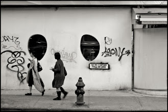 Photo: lower east side, new york city www.leannestaples.com #StreetArtSunday #streetphotography