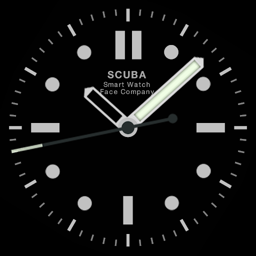 Scuba Diver Watch Face screenshot