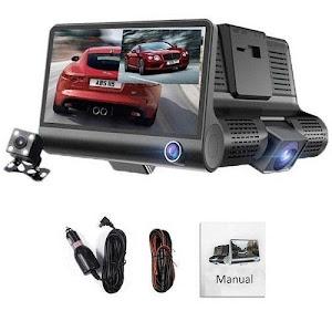 Camera auto 3 in 1 Full HD 1080p, 5 mpx, Unghi 170 grade, Model SMT609