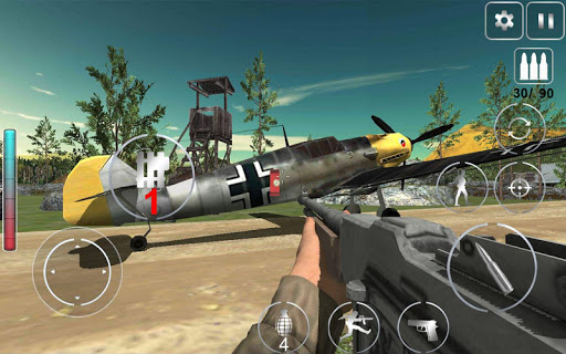 Call Of Courage : WW2 FPS Action Game apkdebit screenshots 8