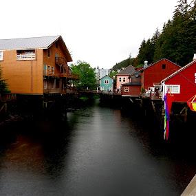 Ketchikan, Alaska by Katie Schmitt - City,  Street & Park  Historic Districts ( alaska, ketchikan,  )