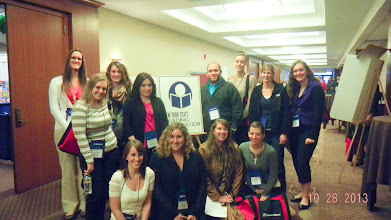 Photo: Some of the special education graduate students, who attended the NYS Reading Conference in Liverpool Oct. 28-30..