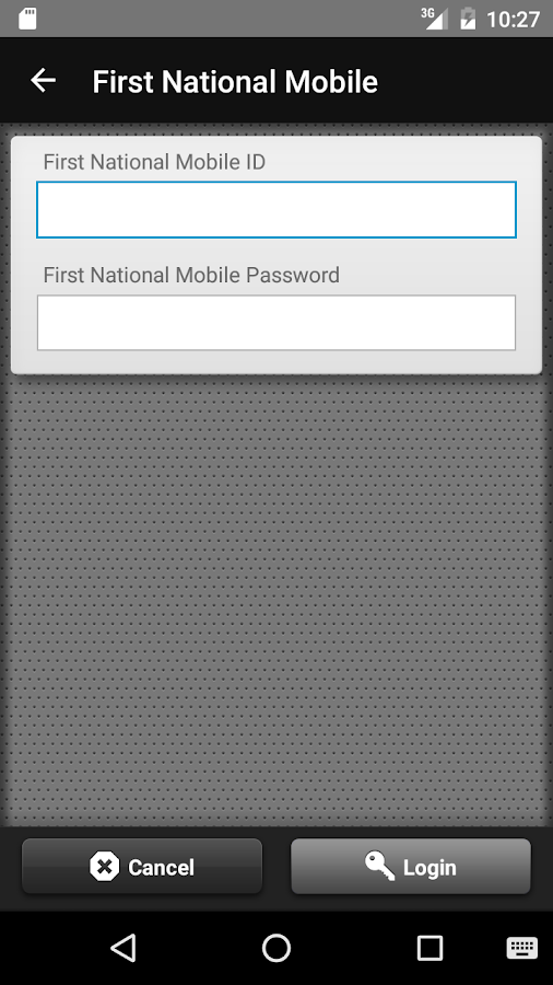 First National Mobile- screenshot