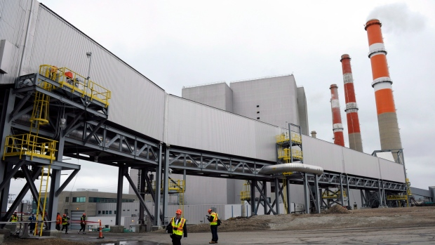 Saskatchewan's power utility says its carbon capture and storage project at Boundary Dam is the world's first commercial-scale operation of its kind.