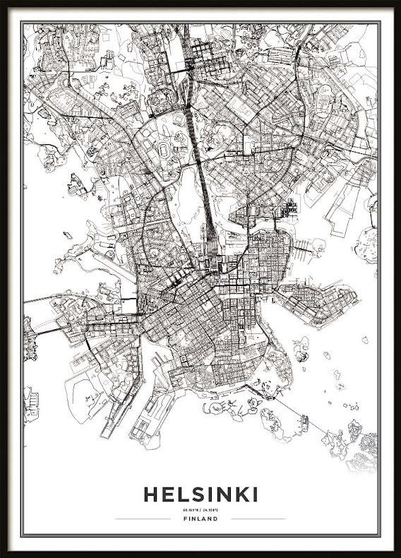 Karta Poster, Helsinki
