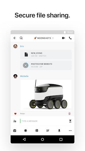 Wire u2022 Secure Messenger  screenshots 4