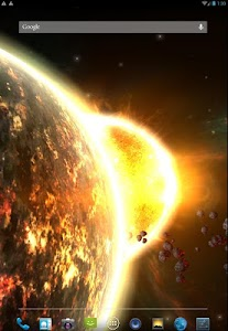 Fire Planet 3D XL screenshot 2