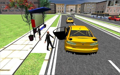 Big-City-Taxi-Drive-Simulation