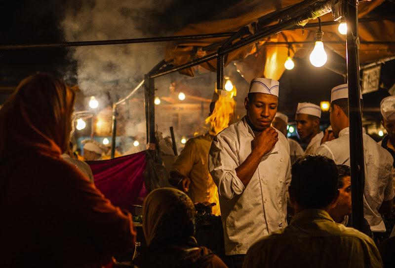A cena a Marrakech di tolmino
