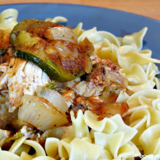 Crock-Pot Italian Chicken & Zucchini.