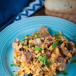 Delicious Italian Sausage and Rice in Under 30 Minutes.
