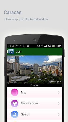 Caracas Map offline