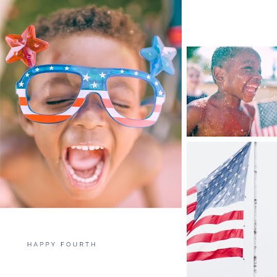 Happy Fourth Kiddo - Instagram Post Template