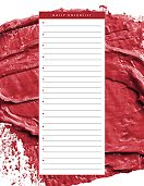 Daily Checklist Brushstrokes - Daily Planner item