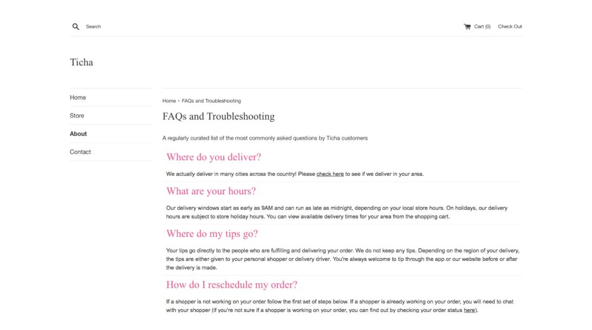 free Shopify FAQ app