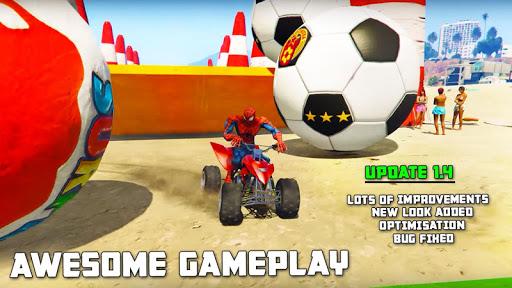 Quads Superheroes Stunts Racing 1.5 screenshots 18