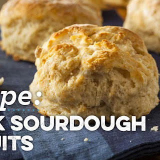 Quick Sourdough Biscuits Recipe