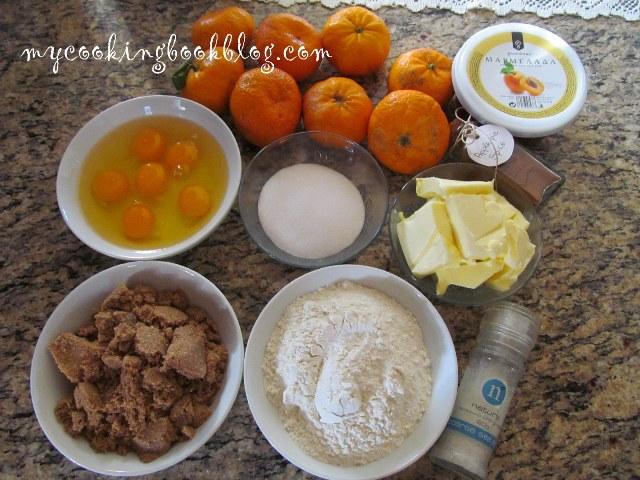 Обърнат сладкиш с мандарини