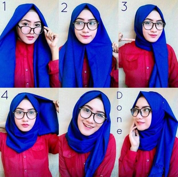 tutorial hijab simple 2017 screenshot