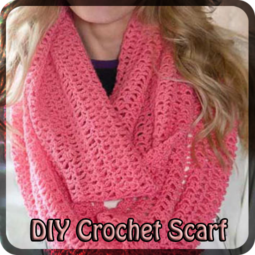 DIY Crochet Scarf.