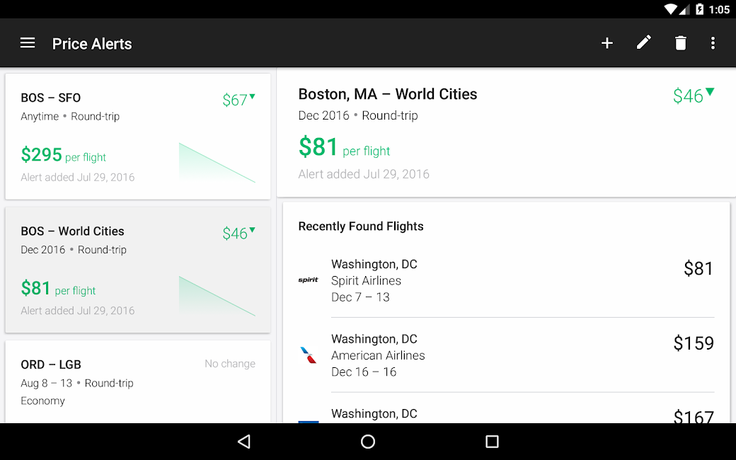 #21. KAYAK Flights, Hotels & Cars (Android)
