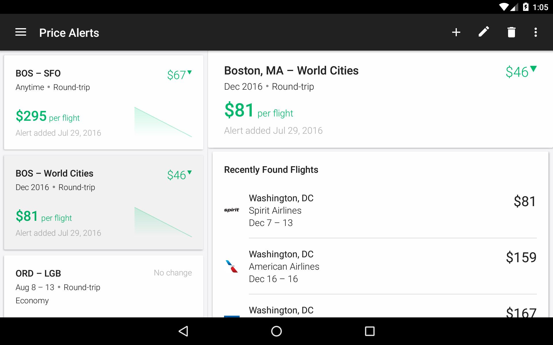 KAYAK Flights, Hotels & Cars screenshot #21