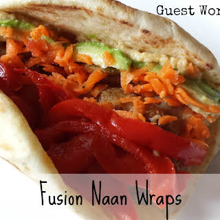 Naan Wraps Recipes.
