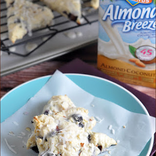 Almond-Coconut Blueberry Scones.