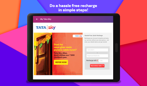 Tata Sky Mobile- Live TV, Movies, Sports, Recharge screenshots 20