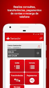 Santander Empresas - náhled