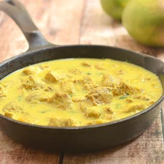 Mango Curry Chicken.