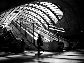 Photo: London #7 - Canary Wharf tube station...  #street #streetphotography #shootthestreet  #london #tube #underground