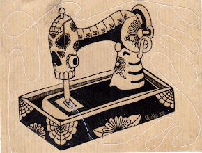Photo: Wenchkin's Mail Art 366 - Day 255 - Card 255a